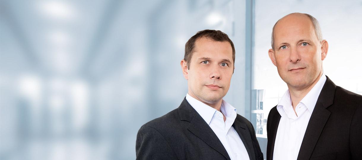 Rechtsanwälte Oliver Wiehring und Raik Sollwedel